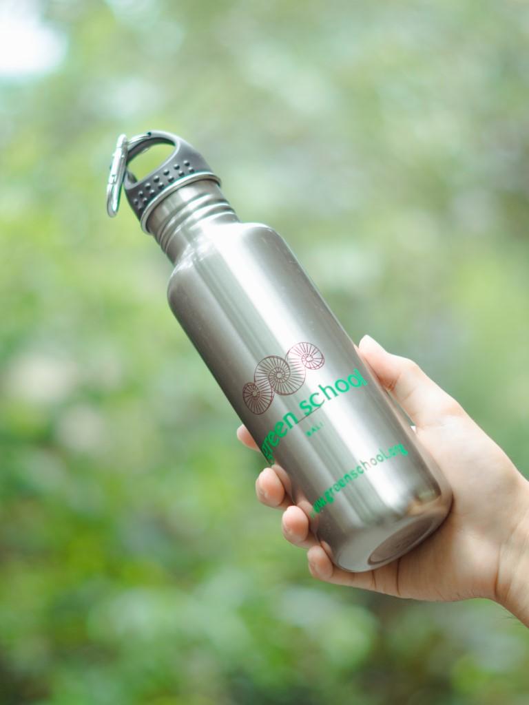 Green School Water Bottle
